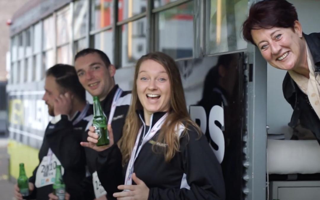 Werktalent Dordrecht: doet mee aan hardloopwedstrijd